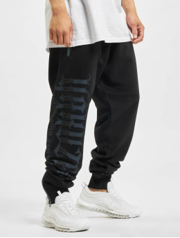 Yakuza Jogginghose Pointing Zip  schwarz