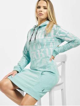Yakuza jurk Branding turquois