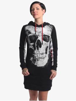 Yakuza jurk Skull Two Face zwart