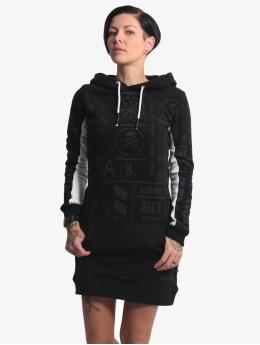 Yakuza jurk Allover Pattern Two Face zwart