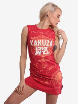 Yakuza Kleid Good Shoot Slash Mini rot