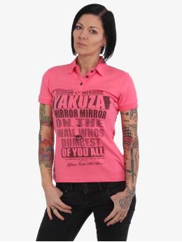 Yakuza Koszulki Polo Mirror Polo rózowy