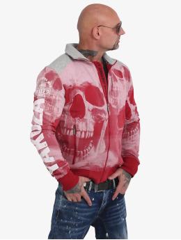 Yakuza Kurtki przejściowe Muerte Skull czerwony