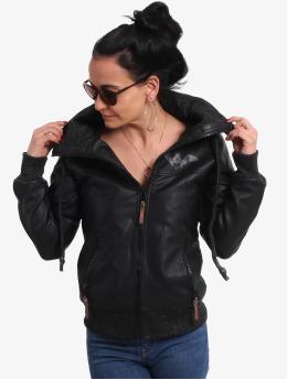 Yakuza Leather Jacket Bat Pu Leather  black