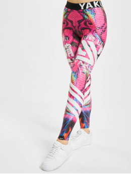 Yakuza Legging Burning Snake  multicolore