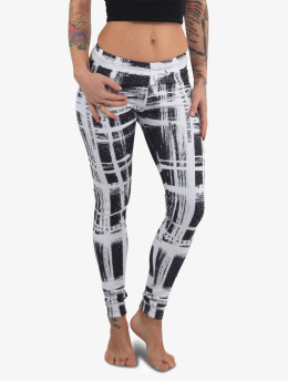 Yakuza Leggings/Treggings Scratched  svart