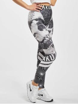 Yakuza Leggings/Treggings Skull Force svart