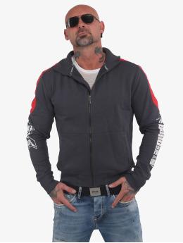 Yakuza Lightweight Jacket Memento Mori Two Face  grey