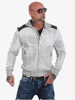 Yakuza Lightweight Jacket Muerte Skull grey