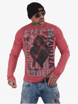 Yakuza Longsleeve Life Is Short  red
