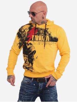 Yakuza Mikiny Crucified  žltá