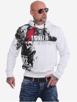 Yakuza Mikiny Crucified  biela