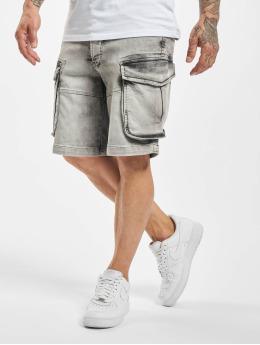 Yakuza Pantalón cortos Drip  gris