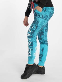 Yakuza Pantalón deportivo Escobar  azul