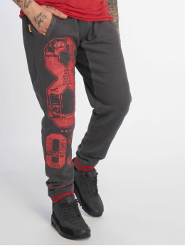 Yakuza Pantalón deportivo Badge gris