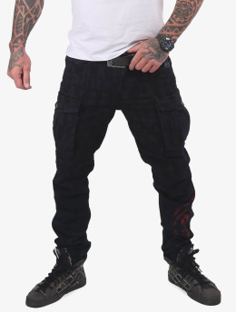 Yakuza Pantalone Cargo Branding Grip nero