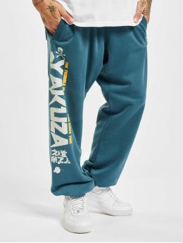 Yakuza Pantalone ginnico Trouble Loose blu