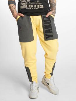 Yakuza Pantalone ginnico Imperator Two Face giallo