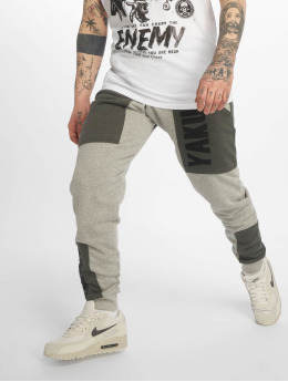Yakuza Pantalone ginnico Imperator Two Face grigio