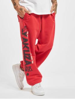 Yakuza Pantalone ginnico Trouble Loose rosso