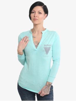 Yakuza Pitkähihaiset paidat Rose Of 893 sininen