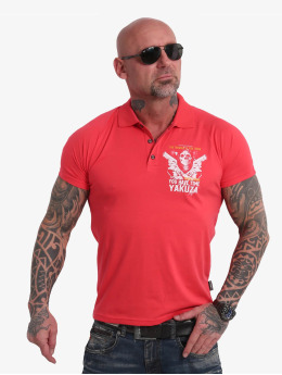 Yakuza Poloshirt Trouble pink