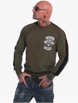 Yakuza Pullover 893mc  grün
