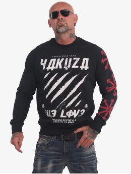 Yakuza Pullover We Love schwarz