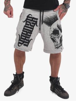 Yakuza shorts Dead Punk V02 Sweat grijs