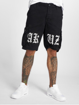 Yakuza Shorts Skull Label nero