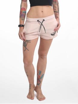 Yakuza Emb Sweat Shorts Crystal Pink
