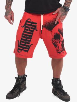 Yakuza shorts Dead Punk V02 rood