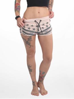 Yakuza Shorts Skull N Stars rosa