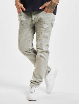 Yakuza Slim Fit Jeans 420 grijs