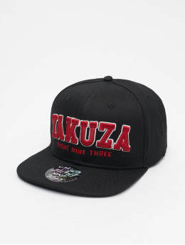 Yakuza Snapback Caps 893 College svart