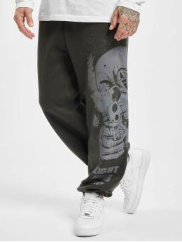 Yakuza Spodnie do joggingu Hating Clown Loose czarny