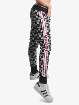 Yakuza Spodnie do joggingu Logo Love czarny