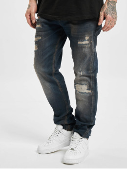 Yakuza Straight Fit Jeans 420 blau