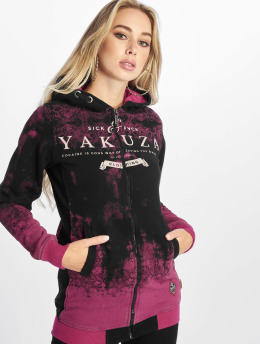 Yakuza Sudaderas con cremallera Gradient Flex fucsia