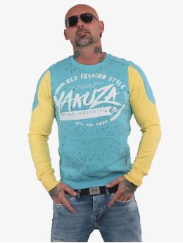 Yakuza Sweat & Pull Old Fashion Two Face Pouch bleu