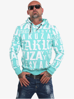 Yakuza Sweat capuche Branding  bleu