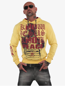 Yakuza Sweat capuche Know  jaune