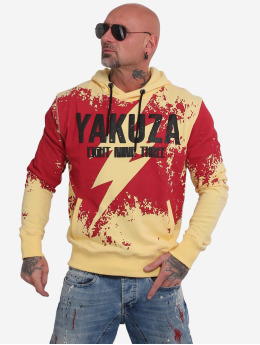 Yakuza Sweat capuche Lightning  jaune