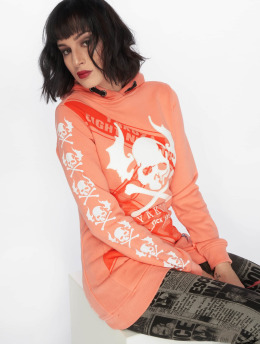 Yakuza Sweat capuche Flying Skull Flex Long orange