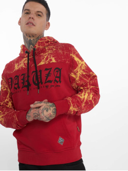 Yakuza Sweat capuche Marble rouge