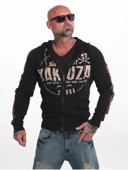 Yakuza Sweat capuche zippé Bad Side noir
