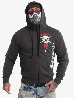 Yakuza Sweat capuche zippé Duel The Clown Ninja  noir