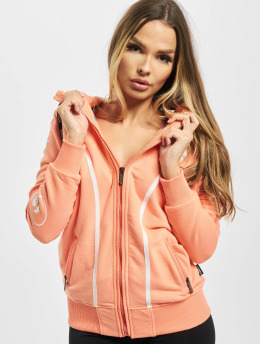 Yakuza Sweat capuche zippé 893Love orange