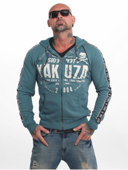 Yakuza Sweatvest Bad Side blauw