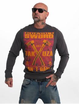 Yakuza Swetry Sword czerwony